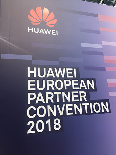 Eurocontrol in Huawei European Partner Convention 2018